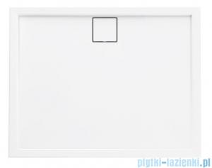 Schedpol Omega brodzik prostokątny z klapką odpływu 100x90x5,5cm 3.0457