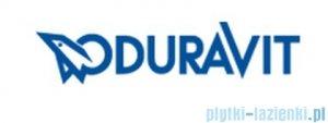 Duravit 2nd floor rura łącząca prosta z rozetą odpływ poziomy 001429 00 00
