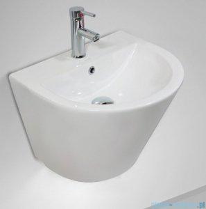 Massi Loca umywalka wisząca 53x44cm biała MSU-K9380