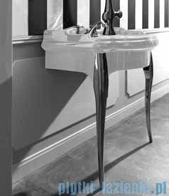 Kerasan Retro Stolik biały pod umywalkę nogi chrom 7362K5