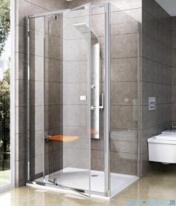 Ravak Pivot PPS ścianka prysznicowa 80cm aluminium transparent Anticalc 90G40C00Z1