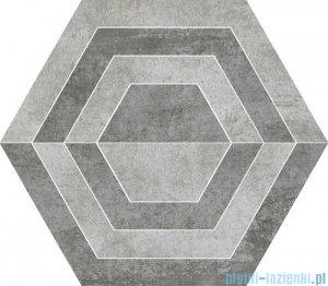 Paradyż Scratch grys A heksagon 26x29,8