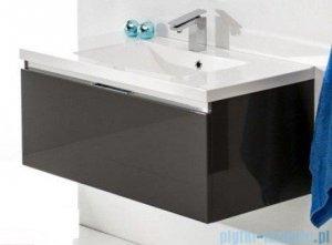 Antado Cantare szafka z umywalką 100x48x40 szary połysk FSM-342/10GT-56/56 + UMML-1000C