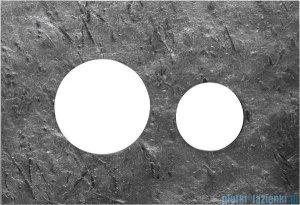 Tece Obudowa ze szkła-do WC Teceloop szary marmur 9.240.675