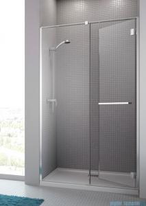 Radaway Carena DWJ Drzwi prysznicowe 90 prawe szkło brązowe + brodzik Delos C 34302-01-08NR