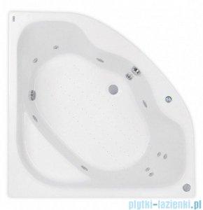 Poolspa Klio Sym wanna symetryczna 133x133cm hydromasaż system SD1 PHS3510SD1C0000