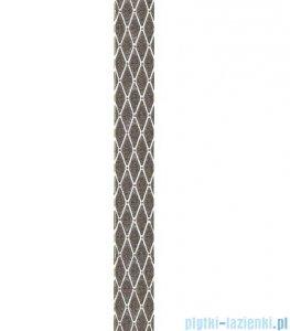 Paradyż Sabro silver poduszki listwa ścienna 7x59,5