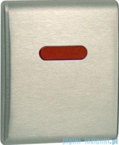 Tece Mechanizm spłukujący elektroniczny do pisuaru Teceplanus stal szlachetna szczotkowana (matowy) 9.242.350