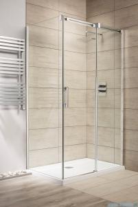 Radaway Espera KDJ Kabina prysznicowa 120x80 prawa szkło przejrzyste + Brodzik Argos D + syfon 380132-01R/380148-01L