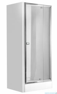 Deante Zoom drzwi wnękowe uchylne 90x185 cm przejrzyste KDZ 011D