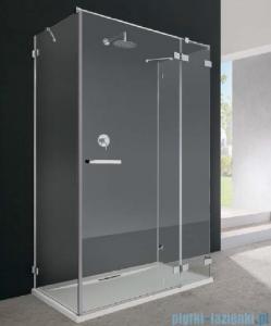Radaway Euphoria KDJ+S kabina przyścienna 100x80x100 prawa szkło przejrzyste + brodzik + syfon 383021-01R/383052-01/383032-01/4AD810-01