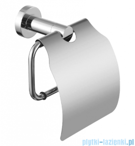 Omnires Modern Project uchwyt na papier toaletowy z klapką Chrom MP60520