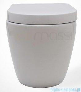 Massi Decos miska wisząca+deska wolnoopadająca biała MSM-3673PP