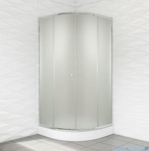 Duso kabina prysznicowa półokrągła 80x80x184cm chinchilla DS401C