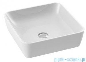 New Trendy Umywalka nablatowa 46x45,5 cm biała U-0074