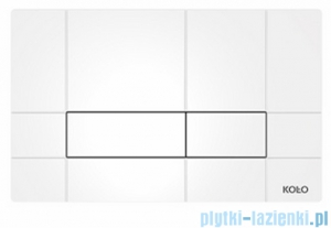 Koło Box przycisk spłukujący do stelaża Technic gt do WC biały 94161-001