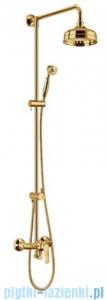 Omnires Art Deco system prysznicowy złoto AD5144 ZL