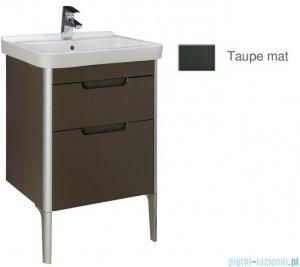 Roca Dama-n Unik 55 zestaw łazienkowy z 2 szufladami taupe mat A851046373