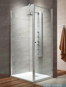 Radaway Eos KDJ kabina prysznicowa 80x80 prawa szkło intimato + brodzik Delos C + syfon 37513-01-12NR