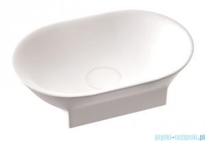 Marmorin Liva 600 umywalka nablatowa 60x35 biała 556060020010