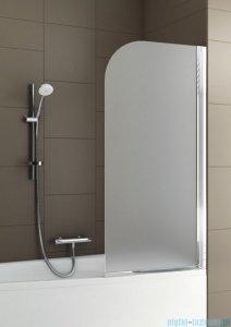 Aquaform Modern 1 parawan nawannowy 67x140cm szkło satinato profil chrom 06977