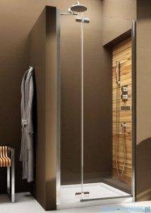 Aquaform Verra Line drzwi uchylne do wnęki lewe 100cm przejrzyste 103-09402