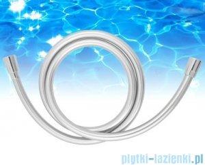 Omnires wąż prysznicowy bezskrętny 150 cm srebrny SILVER X 150
