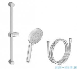 Ravak Zestaw prysznicowy wąż, słuchawka, drążek 60cm X07S003