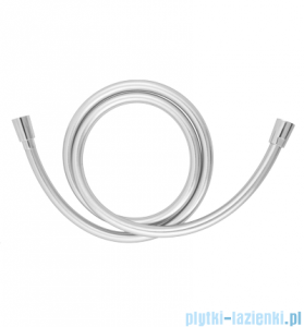 Omnires wąż prysznicowy bezskrętny 150cm srebrny SILVERX150