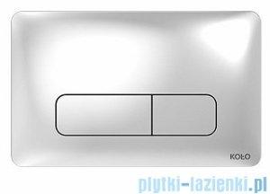 Koło Nova Pro przycisk spłukujący do stelaża Technic GT do WC chrom 94160002