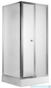 Deante Flex drzwi wnękowe składane 90x185 cm szkło szronione KTL 621D