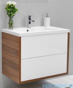 Antado Grande szafka z umywalką 59x50cm orzech Dijon+biały GR-140/60-3734/WS+UMMR-600C