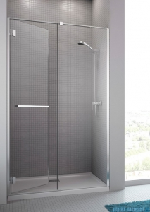 Radaway Carena DWJ Drzwi prysznicowe 100 lewe szkło brązowe 34322-01-08NL