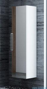 Antado Susanne słupek wysoki z lustrem 35x34x140cm biały AS-163/1-WS