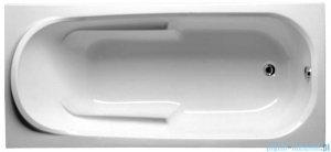 Riho Columbia wanna prostokątna 160x75cm nóżki+syfon BA01/01U/AMC55