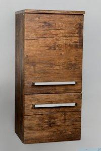 Antado Spektra Słupek wiszący niski 40x33x88 stare drewno FDF-494GT-50