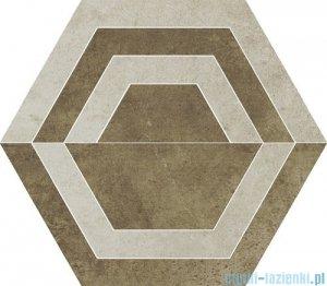 Paradyż Scratch beige C heksagon 26x29,8
