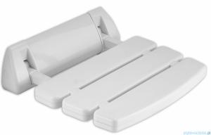 Deante Vital siedzisko przyścienne składane białe NIV 651A