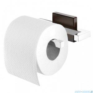 Tiger Zenna Wieszak na papier toaletowy chrom/wenge/ceramika 3515.83
