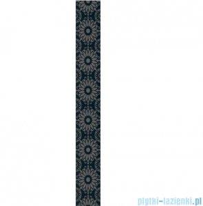 Paradyż Piumetta nero A listwa ścienna 7x59,5