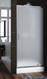 Aquaform Nigra drzwi prysznicowe 90x185cm chrom szkło satinato 103-092112P