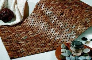 Sealskin Dywanik łazienkowy/mata Woodblock 52x90cm 293324274