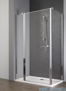 Radaway Eos II KDJ kabina prysznicowa 100x100 lewa szkło przejrzyste + brodzik Delos C + syfon 3799422-01L/3799432-01R/SDC1010-01