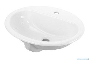 Deante Konwalia umywalka wpuszczana w blat biała CDK 6U5B