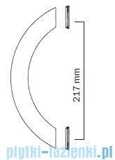 Kaldewei Typ A Uchwyty uniwersalne do wanny chrom mat 587670800996