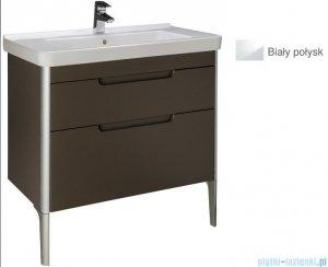 Roca Dama-n Unik 85 zestaw łazienkowy z 2 szufladami biały połysk A851048806