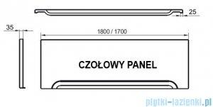 Ravak Przedni panel A 180 do wanien CZ001Y0A00