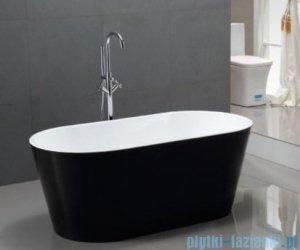 Rea wolnostojąca Ramiro Black 170x80 cm czarno/biała RamiroBlack170