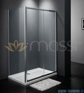 Massi Movo kabina prostokątna przejrzyste 100x80x185 cm MSKP-A405