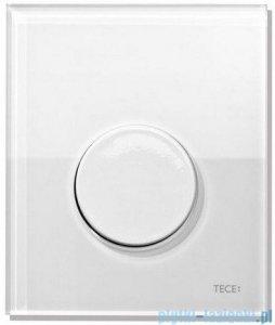 Tece Przycisk spłukujący ze szkła do pisuaru Teceloop szkło białe przycisk biały 9.242.650